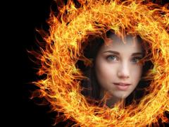Fire Photo Frame 1.0 Screenshot