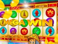 Fire Rescue Hero Slots: Bet, spin and win big cash 2.0 Screenshot