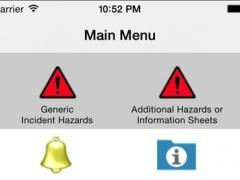 Fire service info 3.1.2 Screenshot