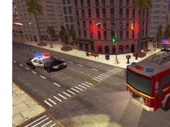 Fire Truck Simulator 2017 - City Traffic Drive 1.0 Screenshot