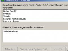 Firefox ExtensionConverter 1.2 Screenshot