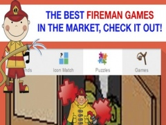 Fireman Games for Toddlers - Sounds and Puzzles 1.0 Screenshot