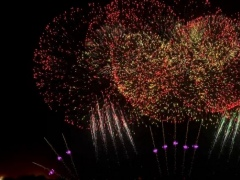 Fireworks HD Live Wallpaper 4.1 Screenshot