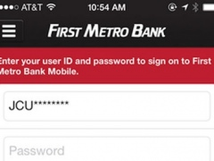 First Metro Bank Mobile 3.4.8.1552 Screenshot