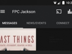 First Presbyterian Jackson, MS 3.3.3 Screenshot