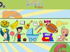 First Words for Kids (free) 1.1 Screenshot