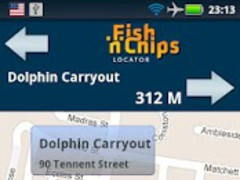 Fish'n'Chips Locator - UK 1.0 Screenshot