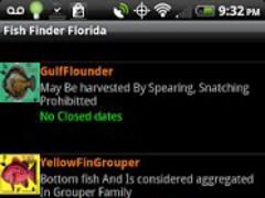 FishFinderFlorida 1.9 Screenshot