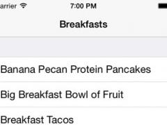 Fit Foods 1.3 Screenshot