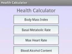 Fitness Calculator 1.0 Screenshot