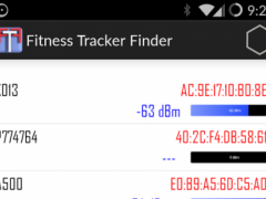Fitness Tracker Finder 1.0 Screenshot