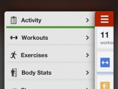 FitnessFast - Daily fitness exercise workout weight and sleep tracker 2.1.2 Screenshot