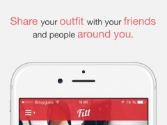 Fitt - Fashion & style. Share your outfits with friends and people around you. 1.1.1 Screenshot
