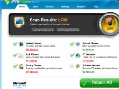 FixCleaner 2.0.5 Screenshot