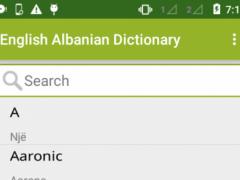 Fjalor Anglisht shqiptar 1.1 Screenshot