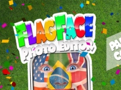 Flag Face Photo Editor 2016 – Best Fan Booth to Paint Yourself in Colors of Your Country 1.0 Screenshot