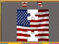 Flag Puzzle HD 1.0 Screenshot