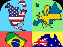 Flags of the World Continents - New Geography Quiz 1.2 Screenshot