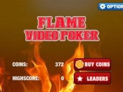 Flame Mini Video Poker 1.0 Screenshot