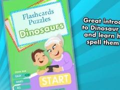 Flashcards Puzzles - Dinosaurs 1.0 Screenshot