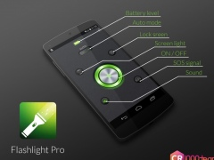 Flashlight Pro - CR1000Team 1.1.5 Screenshot