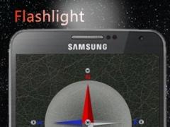 Flashlight w/ compass 1.2 Screenshot