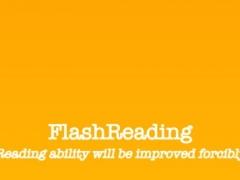 FlashReading - Drastic Speed Reading Training 2.4 Screenshot