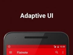 Flatnote Music Player 1.1.3 Screenshot