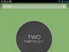 flatro clock - UCCW 1.0 Screenshot