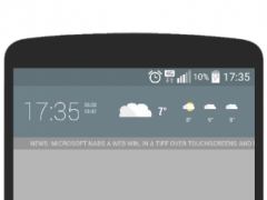 Flatt Weather for Chronus 1.0 Screenshot