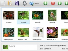 Flickr Gallery for Mac OS 4.8.3 Screenshot