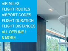 Flight Distance +Airport Codes 1.28 Screenshot
