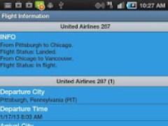 Flight Tracker Free 2.47 Screenshot