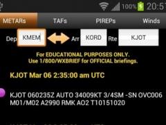 FlightBriefer Aviation Weather 2.9.9.8 Screenshot