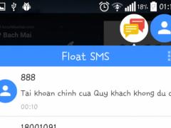 Float SMS (Full - No ad) 2.22 Screenshot
