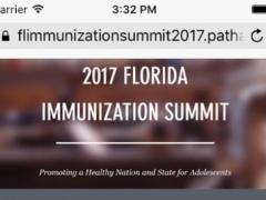 Florida Immunization Summit 2017 1.6.0 Screenshot