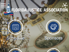 Florida Justice Association 1.1.3 Screenshot
