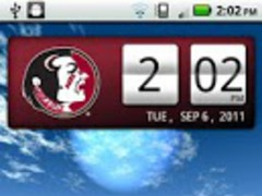 Florida State Seminoles Clock 2.0.2 Screenshot