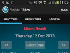 Florida Tide Times 6.0 Screenshot