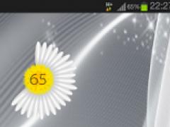 Flower Battery Indicator 1.22 Screenshot