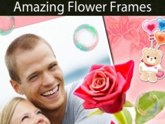 Flower Greeting Frames and Stickers 2.1 Screenshot
