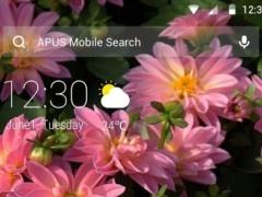 Flowers|APUS Launcher theme 505 Screenshot