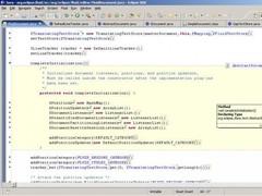 Fluid Source Code Editor  Screenshot