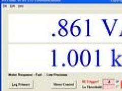 Fluke 45 Serial Application 1.82 Screenshot