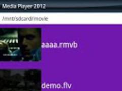 FLV Video&Media Player 2012 1.2 Screenshot