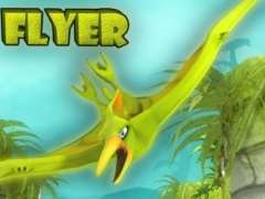 Flyer VR - fantasy 3D sky race 1.0.4 Screenshot