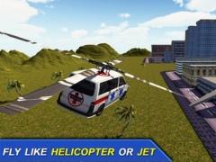 Flying Ambulance Flight Pilot Simulator 3D 1.0 Screenshot