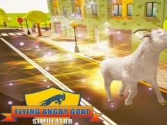 Flying Angry Goat Simulator 3D 1.0 Screenshot