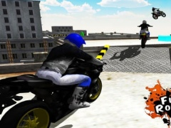 Flying Bike Rooftop Jump Mania - Real Stunt Racing Bike Crash Game 1.0 Screenshot