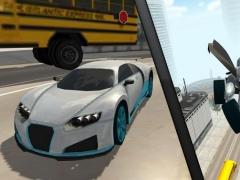 Flying Car Robot Flight Drive Simulator Game 2017 6 Screenshot